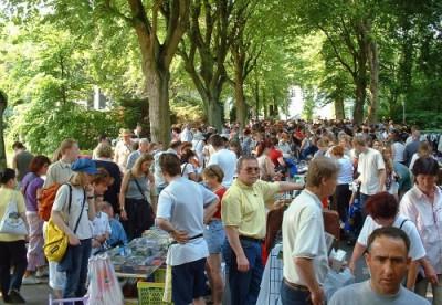 Kulturflohmarkt rund um die Druckerei in Bad Oeynhausen