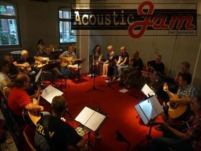 Acoustic Jam in der Druckerei Bad Oeynhausen