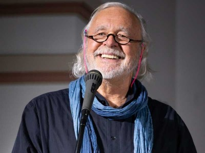 Wortlust Poetry Slam - Klaus Urban - Foto von J. Kollande