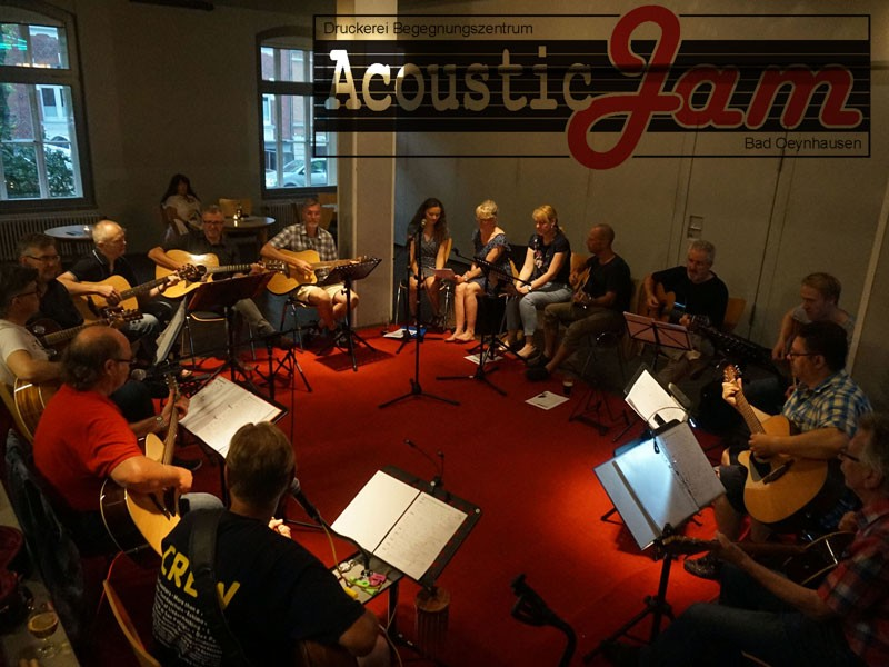 Acoustic Jam in der Druckerei Bad Oeynhausen